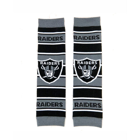 Oakland raiders Baby Leg Warmers baby leggings - Peachy Keen Boutique