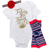 Patriots Baby Outfit - Peachy Keen Boutique