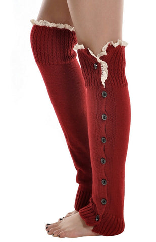 Leg Warmers - Peachy Keen Boutique