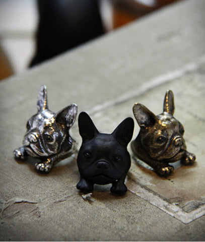 French Bulldog Ring Large - Peachy Keen Boutique