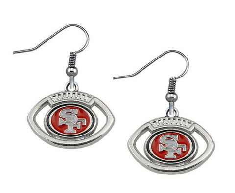 49ers Earrings - Peachy Keen Boutique