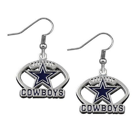 Dallas Cowboys Earrings - Peachy Keen Boutique