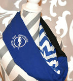 Tampa Bay Lightning Scarf - Peachy Keen Boutique