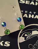 Seattle Seahawks Earrings - Peachy Keen Boutique