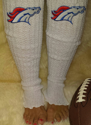 Denver Broncos Leg Warmers - Peachy Keen Boutique