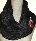 Bulls Knit Scarf - Peachy Keen Boutique