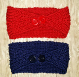 Patriots Knit Headband - Peachy Keen Boutique