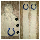 Colts Leg Warmers and or Beanie - Peachy Keen Boutique