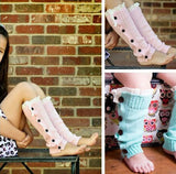 Toddler Cowboys Leg Warmers - Peachy Keen Boutique