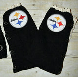 Steelers Leg Warmers and or Beanie - Peachy Keen Boutique