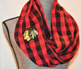 Blackhawks Scarf - Peachy Keen Boutique