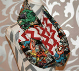 Marvel Hero Scarf - Peachy Keen Boutique