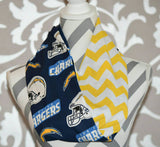 Chargers Scarf - Peachy Keen Boutique
