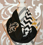 Army Black Knights Infinity Scarf - Peachy Keen Boutique