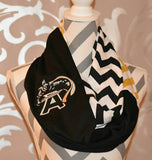 Black Knights Scarf - Peachy Keen Boutique