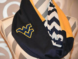 West Virginia University Scarf - Peachy Keen Boutique