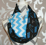 Carolina Panthers Scarf - Peachy Keen Boutique
