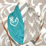 Scarf Browning Deer Logo - Peachy Keen Boutique