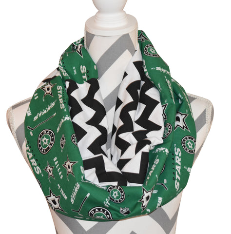 Dallas Stars Scarf - Peachy Keen Boutique