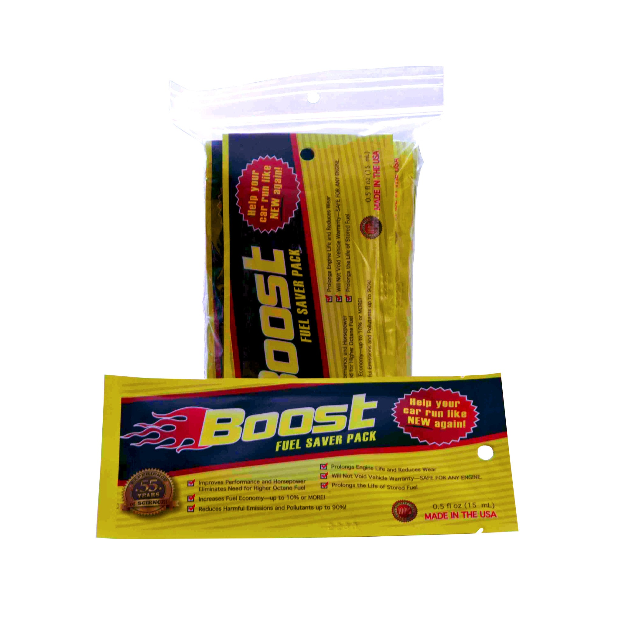 BOOST High Performance Fuel Additive - 10 Pack