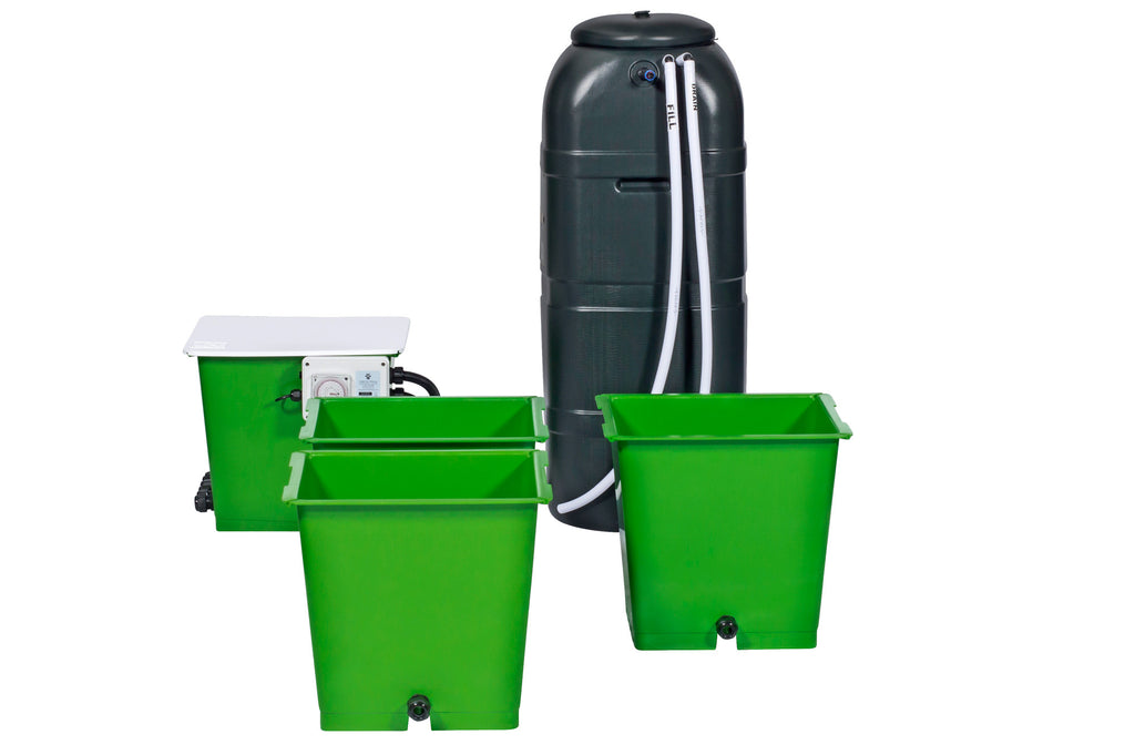 Green Man System 3 Pot Flood & Drain System