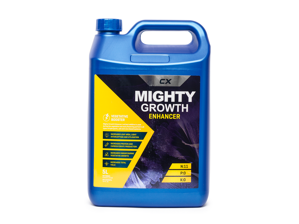 CX Hydroponics Mighty Growth Enhancer 5 Litre