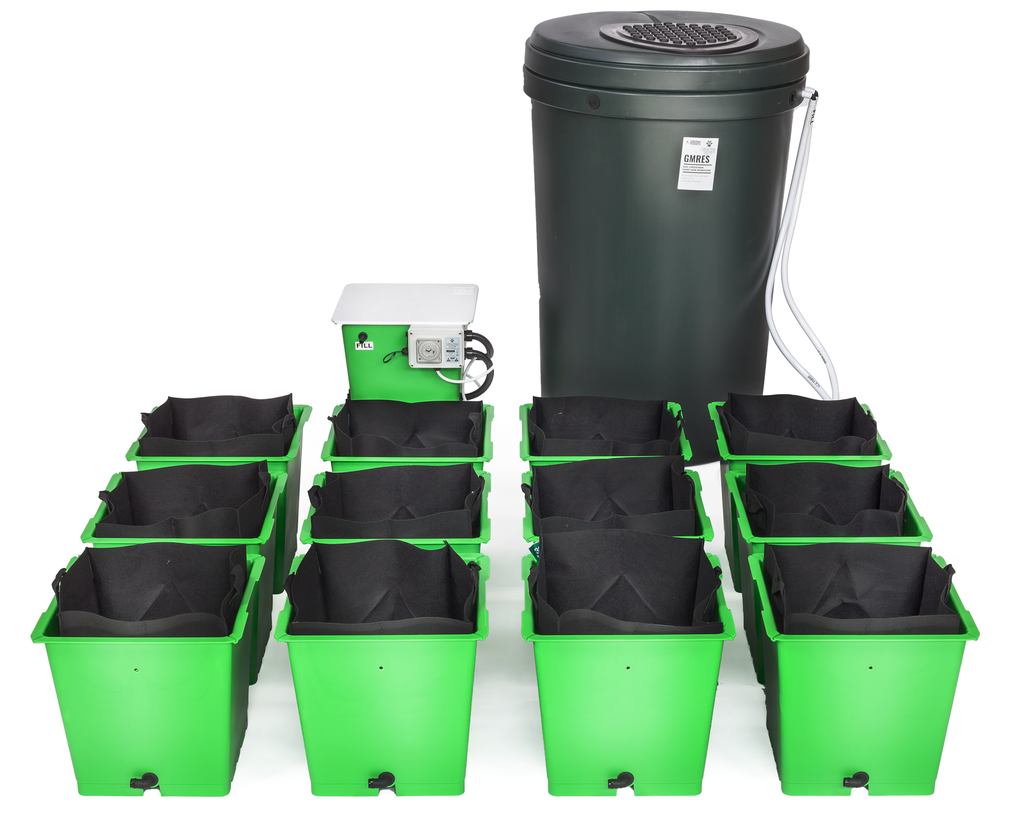 Green Man System 12 Pot Flood & Drain System