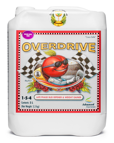 Advanced Nutrients Overdrive 5 Litre