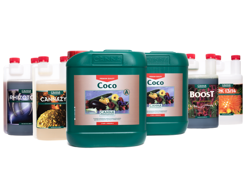 Canna Coco Nutrient & Additives Set (Pro)