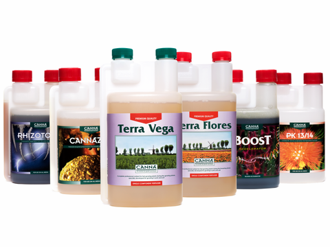 Canna Terra Nutrient & Additives Set (Beginner)