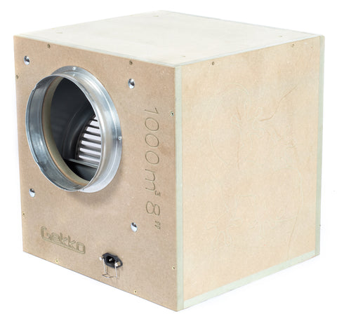 Gekko Acoustic Box Fan 1000