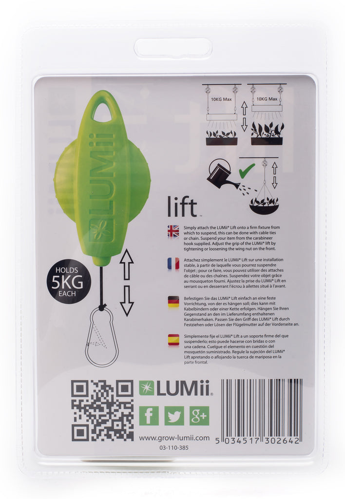 LUMii lift Light Hanger - Pack of 2