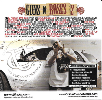 DJ FINGAZ - GUNS-N-ROSES VOL. 2