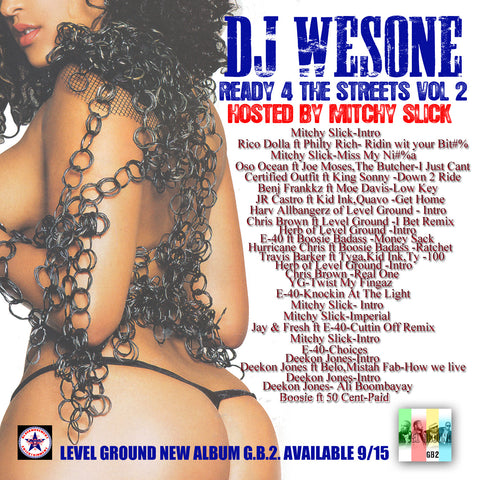 Dj WesOne - Ready 4 the Streets vol.2