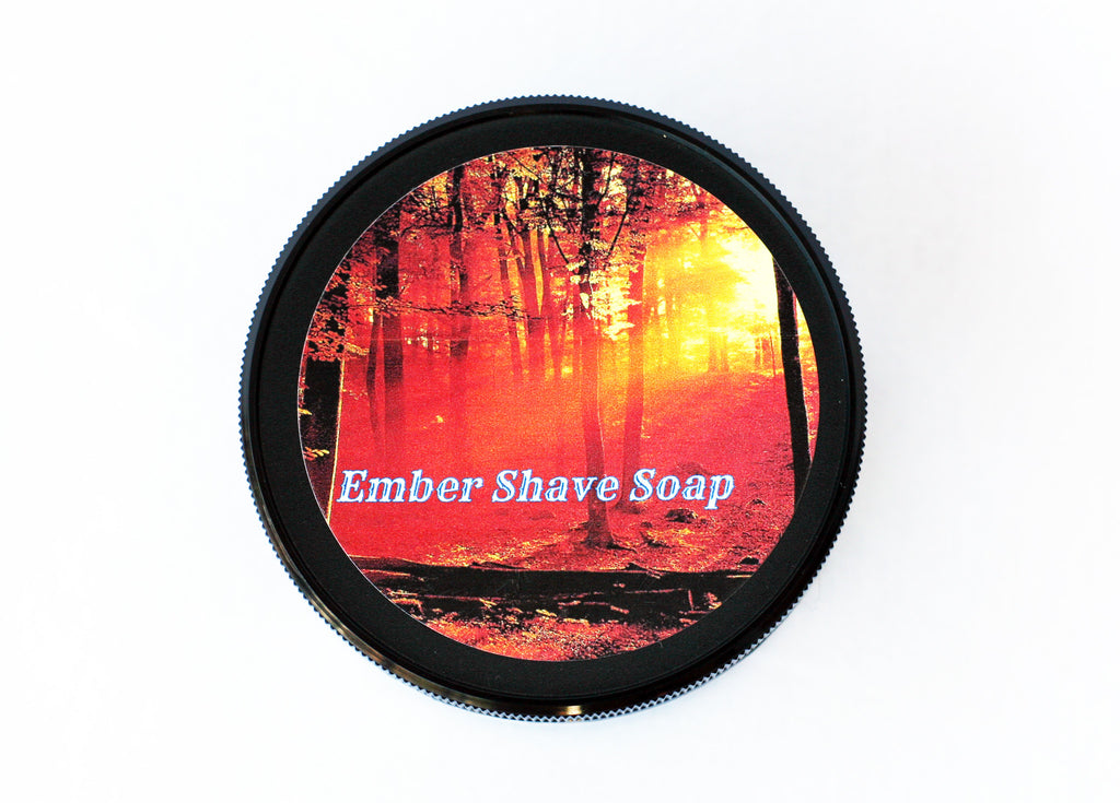 Ember Vegan Shave Soap - CreationsByWill