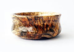Spalted Tamarind Lather Bowl - CreationsByWill