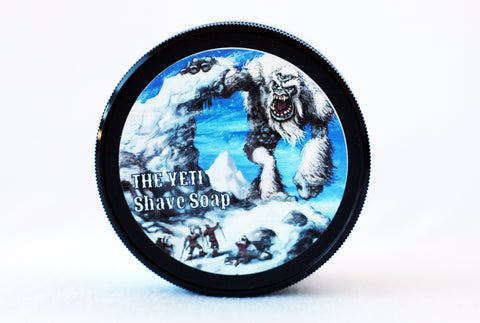 The Yeti Vegan Shave Soap