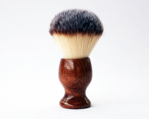 Mahogany Plisson Lather Brush