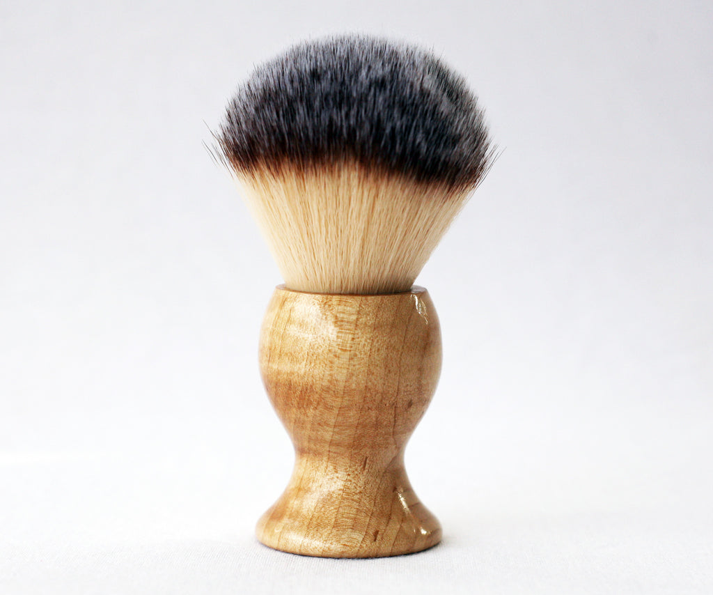 Maple Plisson Lather Brush - CreationsByWill