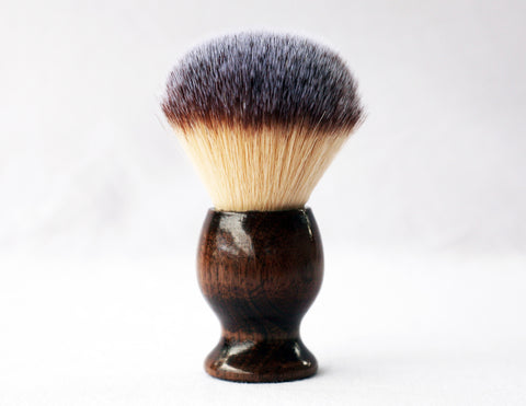 Walnut plisson Lather shave Brush