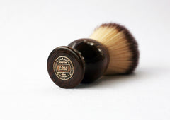 Walnut plisson Lather shave Brush - CreationsByWill