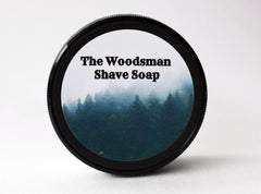 The Woodsman Vegan Shave Soap - CreationsByWill