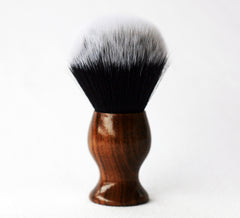 Walnut Tuxedo shave Brush - CreationsByWill
