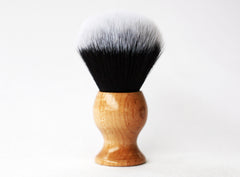 Maple Tuxedo Lather Brush - CreationsByWill