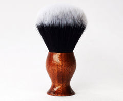 Mahogany Tuxedo Lather Brush - CreationsByWill