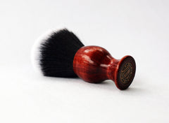 Red Cedar Tuxedo shave Brush - CreationsByWill
