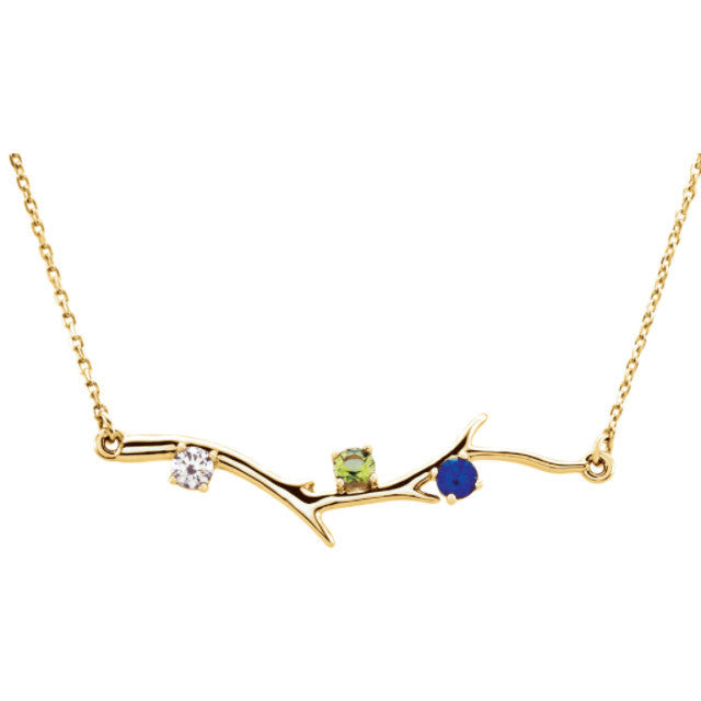 concaved color figaro pave more accent tri double inches gold necklace chain views