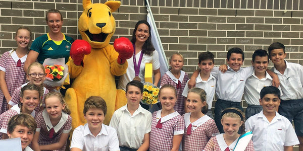 Student First Aid - Rio Hopefuls Inspire Sydney Primary Students