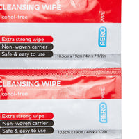 Antiseptic Cleansing Wipe Alcohol-Free (10) 10101005