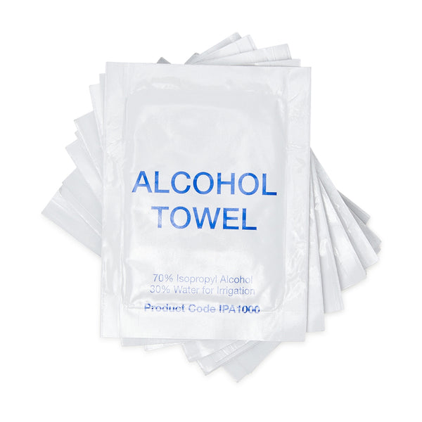 Alcohol Towel Sachets (1000) 10101018